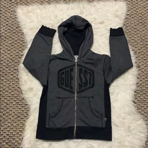 Guess hoodie kids size 5/6 Good Condition